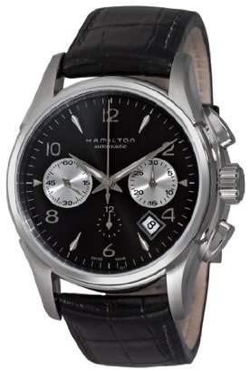 Hamilton Men's H32656833 Jazzmaster Chronograph Dial Watch