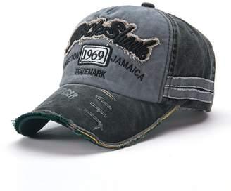 King Star Washed Cotton Baseball Caps Adjustable Snapback Embroidered Vintage  Hat 4d6c48268bfe