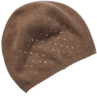 Portolano Cashmere Hat With Rhinestones