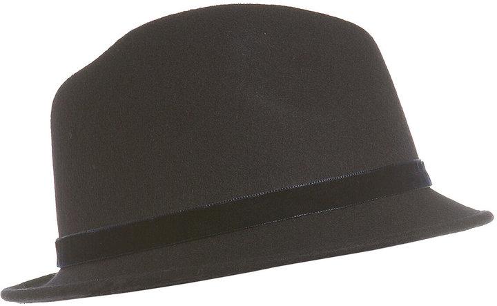 Wool Felt Trilby Hat