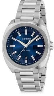 Gucci Men's Stainless Steel Bracelet Watch - Silver