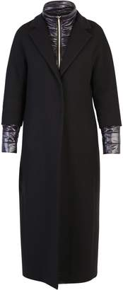 Herno Black Quilted Coat