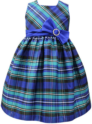 Jayne Copeland Plaid Bow Dress, Toddler & Little Girls (2T-6X) $74 thestylecure.com