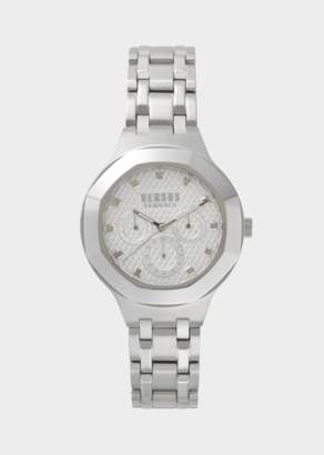 Versus Silver Laguna City Multi Watch