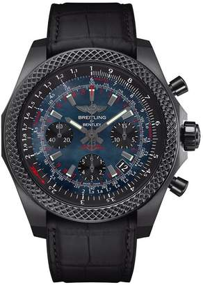 Breitling Black Steel Bentley B06 S Chronograph Watch 44mm