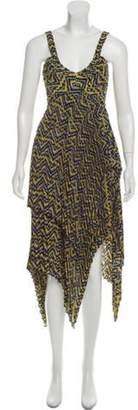 A.L.C. Silk Sleeveless Maxi Dress w/ Tags Yellow Silk Sleeveless Maxi Dress w/ Tags