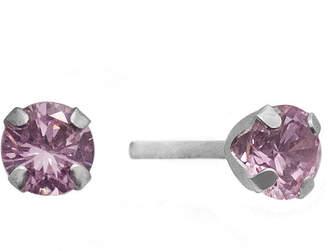 JCPenney FINE JEWELRY 1 CT. T.W. Color-Enhanced Pink Diamond Stud Earrings