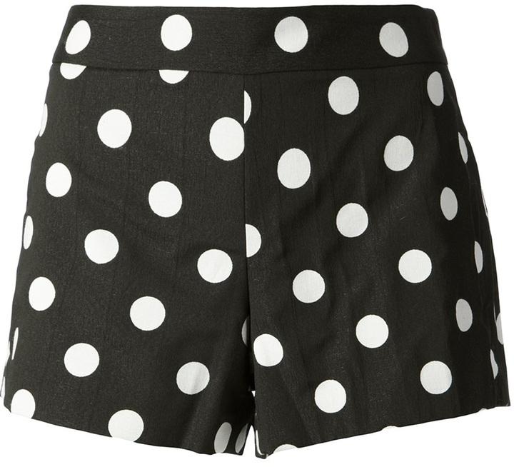 Alice + Olivia Alice+Olivia polka dot print shorts