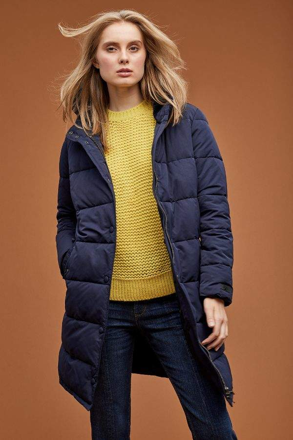 Padded-Quilted Parka