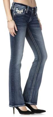 Rock Revival Reversed Bootcut Jeans