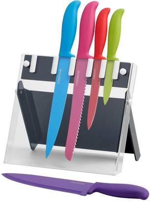 Farberware 6-pc. Multi-Color Knife Block Set