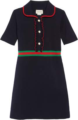 Gucci Merino Wool Polo Dress