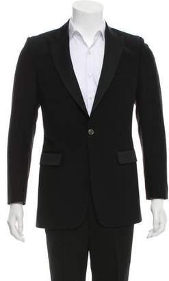 Burberry Wool Tuxedo Jacket