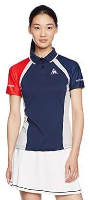 Le Coq Sportif (ル コック スポルティフ) - (ルコックスポルティフ)le coq sportif テニス NEXTEP 半袖ポロシャツ QT-715173 [レディース] QT-715173 NVY NVY O