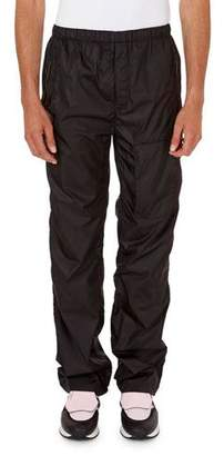 Givenchy Solid Nylon Jogging Pants