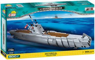 Cobi Small Army World War Ii German Submarine Type U Boot Viib U48 800 Piece Construction Blocks Building Kit