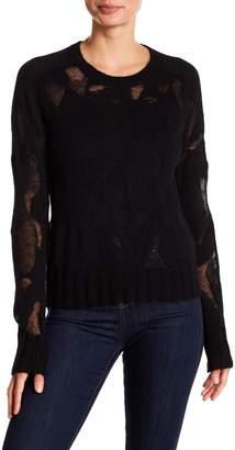 A.L.C. Lenox Burnout Pullover Sweater