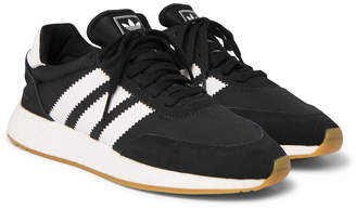 adidas I-5293 Leather and Suede-Trimmed Neoprene Sneakers