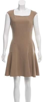 Michael Kors Virgin Wool Sleeveless Dress