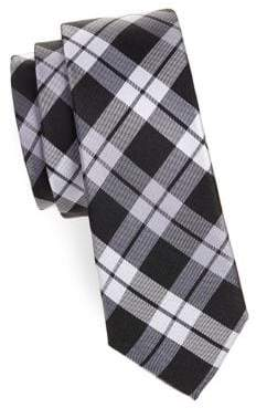 Lauren Ralph Lauren Boy's Plaid Slim Silk Tie