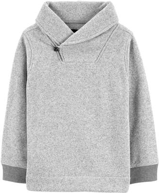 Osh Kosh Oshkosh Bgosh Boys 4-12 Shawl Pullover Sweater