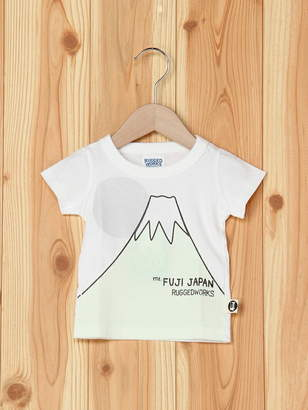 R & E (アール アンド イー) - RUGGEDWORKS 富士山半袖TEE ラゲットワークス カットソー