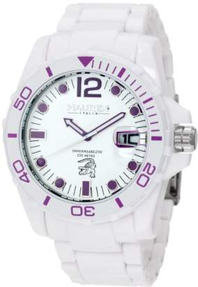 Haurex Italy Men's W7354UWP Caimano Date Dial Plastic Sport Watch