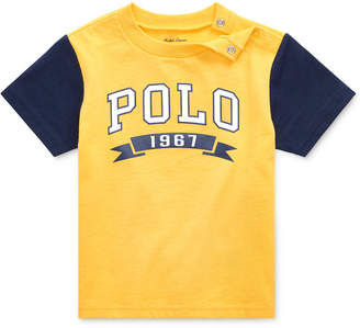 Polo Ralph Lauren Baby Boys Logo Graphic Cotton T-Shirt