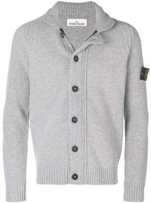Stone Island buttoned knit cardigan