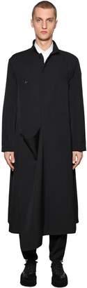 Yohji Yamamoto Wool Gabardine Coat