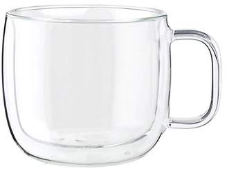 Zwilling J.A. Henckels Zwilling Double Wall Glass 2-Piece Cappuccino Glass Mug Set