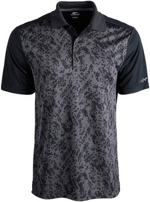 Greg Norman Attack Life by Men's Turney Regular-Fit Performance Stretch PlayDry Jacquard Polo