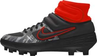 Nike Alpha Huarache Elite Mid Premium By You Baseball Cleat