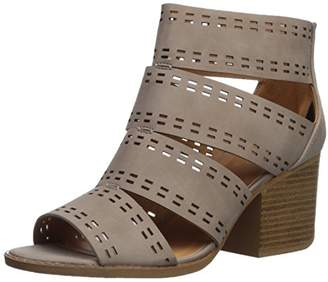 Qupid Women's CORE-57 Heeled Sandal
