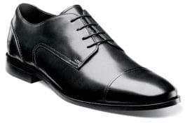 Florsheim Jet Leather Cap-Toe Oxfords