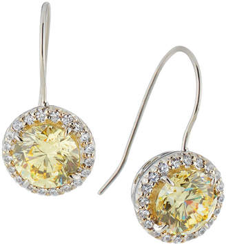 Fantasia Antique Cubic Zirconia Round Drop Earrings yP75xrHJ8