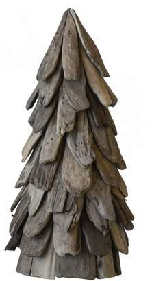CREATIVE CO-OP Driftwood Cone Tree