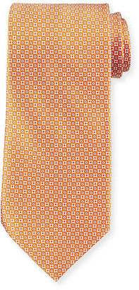 Stefano Ricci Neat Printed Silk Tie $250 thestylecure.com