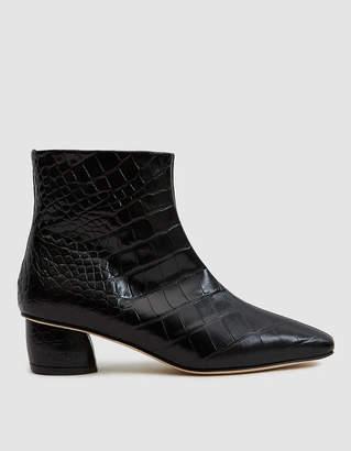 LOQ Matea Croc Ankle Boot