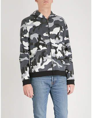 Valentino Camouflage-print cotton-jersey hoody