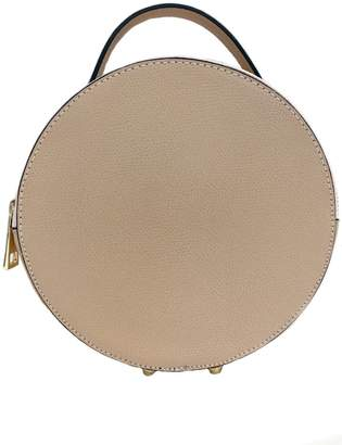 Leather Country Round Leather Satchel