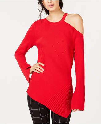 INC International Concepts I.N.C. Asymmetrical Cutout Sweater, Created for Macy's