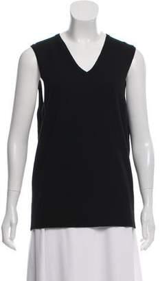 Calvin Klein Collection Cashmere Sleeveless Top