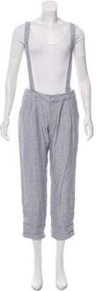 Boy By Band Of Outsiders Mid-Rise Suspender Pants