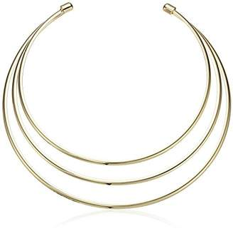 GUESS IG Metal Choker Necklace