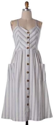 Soprano Breathtaking Stripes Midi-Dress