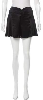 Anna Sui Mid-Rise Mini Shorts
