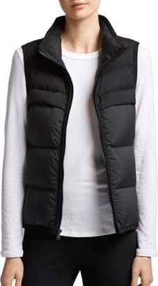 James Perse Quilted Down Vest