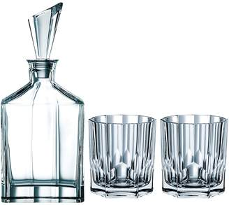 Nachtmann Aspen 3-Piece Whisky Decanter & Tumbler Set