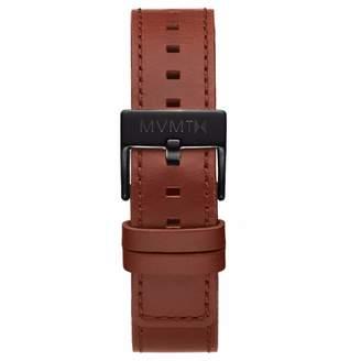 MVMT Mens Chrono 40mm Series20mm Natural Tan Leather